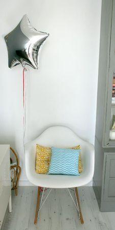le fauteuil, étoile, coussins...