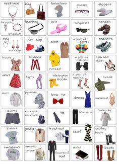 Estudar a brincar...       * Inglês*: clothes - 5th year
