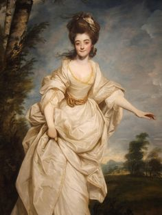 """diana, viscountess crosbie"" by sir joshua reynolds c.1777"
