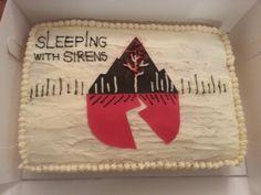 Sleep with Sirens Cake