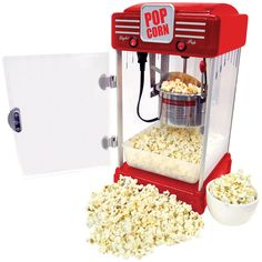 Red Movie Theatre Table Top Popcorn Machine - Overstock™ Shopping - Big Discounts on Popcorn Poppers