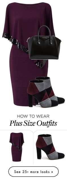 """""""76/1000"""" by nagra-muskan on Polyvore featuring Adrianna Papell, Roberto Festa and Givenchy"""