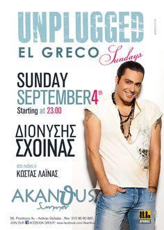 Dionisis Sxoinas Live @ Akanthus