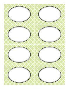 Free printable labels in a few different colors and patterns that work well for candy bars!