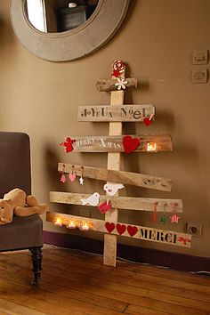 lovely home made christmas tree