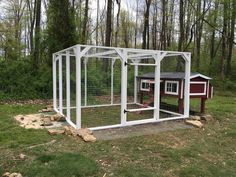 Old Coop Upgraded Into Beautiful New Chicken Home Chicken Home, Chicken Bird, Chicken Runs, Diy Chicken Coop, Hobby Farms, Run Around, Chickens Backyard, Diy Design, Raccoons