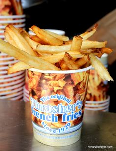 Add Vinegar and Salt Thrashers French Fries Rehoboth Beach Delaware Hungry Goddess