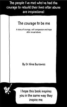 Great resource for those who have experienced sexual violence. Author offers the online version of the book for those who can't afford it or who are unable to have it around their homes.