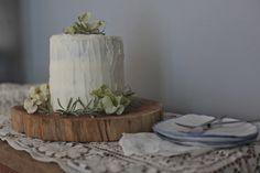 Earl Grey + Lemon Zest Cake with Vanilla Buttercream