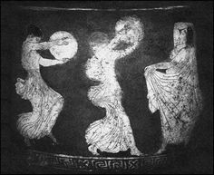 The Goddess and the Drum (The Twelfth Day of Christmas) Ancient Music, Ancient Art, Ancient Goddesses, Gods And Goddesses, Greek Chorus, Frame Drum, Drums Art, Greek Pottery, Twelve Days Of Christmas