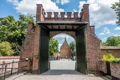 The gate to the Beguinage, one of the Bruges points of interest