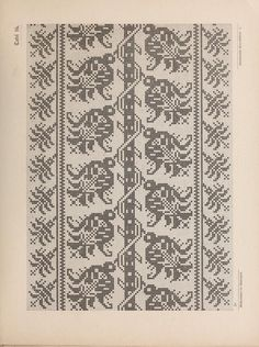 ru / Фото # 71 – Sample book of old Italian linen embroidery 1881 … - Stickerei Ideen Cross Stitch Sampler Patterns, Cross Stitch Borders, Cross Stitch Designs, Cross Stitching, Cross Stitch Embroidery, Palestinian Embroidery, Hungarian Embroidery, Chicken Scratch Embroidery, Embroidery Techniques