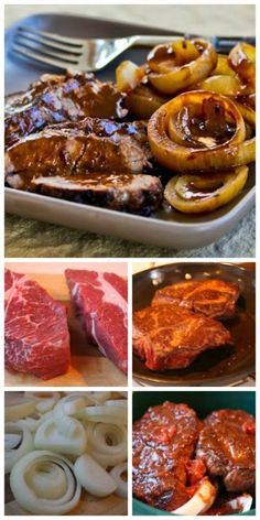 How to Make Pot Roast in a Crockpot and Recipe for Balsamic and Onion Pot Roast [from Kalyn's Kitchen] use cauliflower instead of potatoes