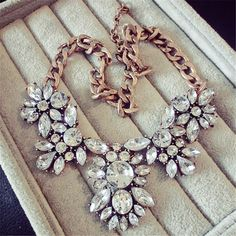Lemon Value Femme Collier Statement Choker Vintage Crystal Collar Charms Rhinestone Pendants Necklaces Maxi Women Jewelry A180