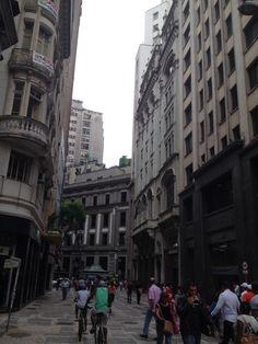 Centro histórico de São Paulo.