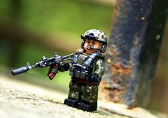 Special forces minifig