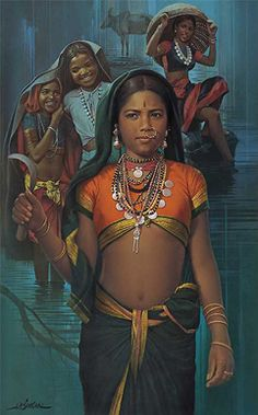 J. P. Singhal - Ready for paddy fields @ J. P. Singhal: India's Realist Master Painter | StoryLTD