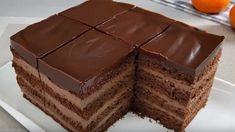 Bosnian Recipes, Croatian Recipes, Sweet Desserts, Sweet Recipes, Arabic Dessert, Sponge Cake Recipes, Desert Recipes, Mini Cakes, Deserts