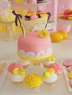 Pink Lemonade Birthday Party Ideas | Photo 12 of 17 | Catch My Party