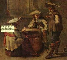 Cravats worn pre-1660