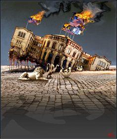 2004 Gatas parlament - Rolf Grovens nettgalleri