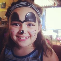 Mickey Mouse Face paint #gabbasfacepainting