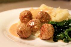 IKEA Meatballs- copycat recipe