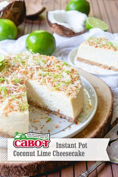 Perfect easy instant pot recipe for a sweet, tart, creamy cheesecake. A high-end dessert in less time than it took you to find this pin :) Greek Yogurt Cheesecake, Lime Cheesecake, Cheesecake Recipes, Dessert Recipes, Instapot Cheesecake, Yogurt Recipes, Instant Pot Pressure Cooker, Instant Cooker, Pressure Cooking