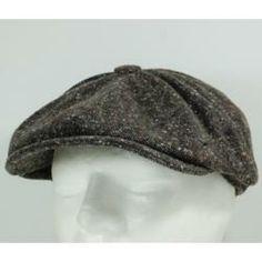 Boina Oitavada - Homem - Essex Donegal Castanho - A Fábrica dos Chapéus -  Detalhes a31c4284f619