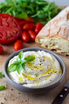 This vegan ricotta cheese is simple to make yet creamy, indulgent and really delicious. It makes a fantastic soft cheese replacement. It's also gluten-free.