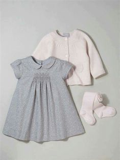 dress and sweater combo