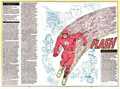 The Flash (Barry Allen) as he appeared in Who's Who just two weeks before the publication of his death in Crisis on Infinite Earths. Art by Carmine Infantino and Murphy Anderson! Be sure to check out...