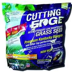 Cutting Edge Grass Seed Low Maintenance Sun  Shade Mix of Kentucky Bluegrass and Other Top Performing Seed 5 LB >>> Click image to review more details.