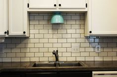 Charmant How To Install A Subway Tile Kitchen Backsplash