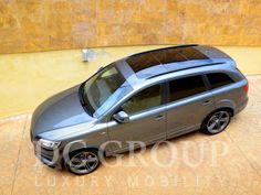 Audi Q7 TDI Quattro for hire in Barcelona and other parts of the Western Europe. To hire Audi Q7 TDI Quattro call us: +34 952 773943