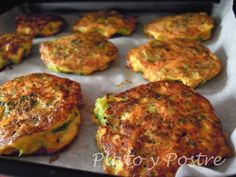 Tortitas de Brocoli y Zanahoria Baby Food Recipes, Meat Recipes, Mexican Food Recipes, Healthy Recipes, Ethnic Recipes, Kitchen Dishes, Main Dishes, Vegetarian Meat Recipe, Good Food