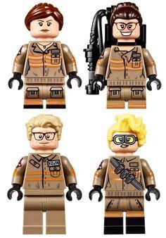 LEGO Ghostbusters 3 – LEGO dévoile les figurines du nouveau reboot