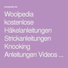 Woolpedia kostenlose Häkelanleitungen Strickanleitungen Knooking Anleitungen Videos - Oberteile