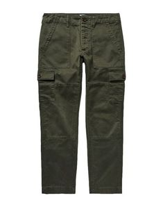 Plain weave Solid color Regular fit Button closing Multipockets Straight leg Mid rise No appliqués Todd Snyder, Khaki Pants, Men's Pants, Military Green, Men's Collection, Mens Fashion, Clothes, Shopping, Moda Masculina