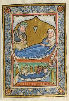 Vita Christi (Life of Christ) France, perhaps Corbie, ca. 1175 MS M.44 fol. 2r