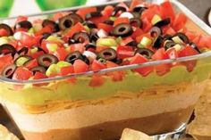 7-Layer Fiesta Party Dip