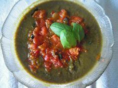 Crema fredda di lenticchie con pik-pak