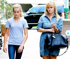 Celebrities and Their Lookalike Kids: Reese Witherspoon and Ava