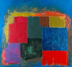 John Hoyland, North sound, 1979. John Hoyland RA (12 October 1934 – 31 July 2011) was a London-based British artist. He was one of the country's leading abstract painters.