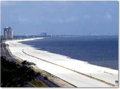 Biloxi and Gulfport Mississippi beaches - Randy and I lived here years ago love the area