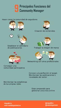 9 funciones del community manager