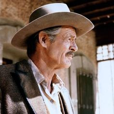 """One of my favorite actors Robert Ryan in a still from one of the best westerns ever made """"The Wild Bunch"""". Western Film, Western Movies, Best Movies List, Good Movies, The Great Train Robbery, Sam Peckinpah, Robert Ryan, The Wild Bunch, Best Supporting Actor"""
