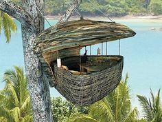 Ten of The Worlds Most Beautiful Tree House Restaurants Beautiful Tree Houses, Cool Tree Houses, Robinson Crusoe, Keemala Phuket, Resorts, Bangkok, Tree Restaurant, Travel The World For Free, Recycled Crafts Kids