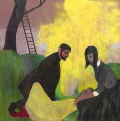 Kai Althoff, exhibition at Vancouver Art Centre