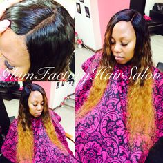Silk Base Closure #natural #cute #luscious #ombre #bold #pretty #glamfactory #glamfactoryhairsalon #masterstylistnicky #releaseyourinnerglam
